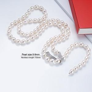 Image 3 - Genuino Dacqua Dolce A Più Strati lunga collana di perle donna, da sposa collana di perle naturali dei monili delle ragazze di bianco regalo di compleanno bianco