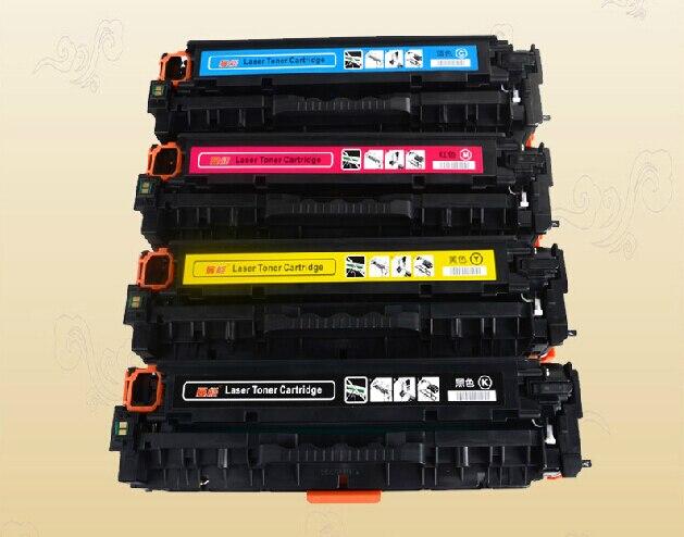 Para HP CE320A CE321A CE322A CE323A cartucho de tóner de color compatible para HP Color LaserJet CP1525N 1525NW CM1415FN impresora láser