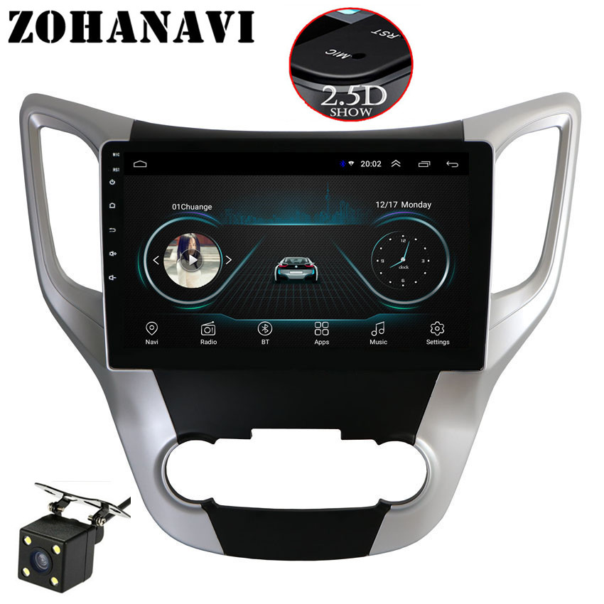 ZOHANAVI 2 5D Screen Car DVD Android For Changan CS35 Radio GPS navigation with maps support