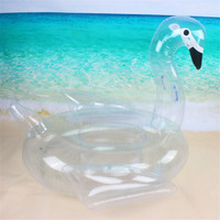 140 * 100 * 108cm giant inflatable swan water toy inflatable swimming pool float swimming ring beach air mattress swimming pool