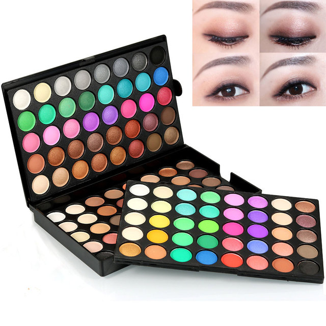 Popfeel New Eyeshadow Professional Makeup Pearly Matte Nude eye makeup Pack eyeshadow Cosmetic Palette 120 colors Maquiagem