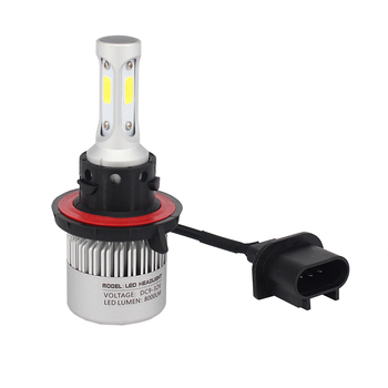 1 pair S2 H4 H13 9004 9007 Hi-Lo HB2 9003 6500K 8000LM 72W COB LED waterproof led headlight auto lighting with cooling fan image