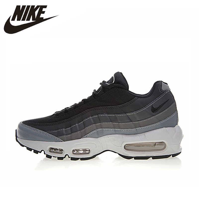 d4e9f30420 NIKE AIR MAX 95 ESSENTIAL Men's Running Shoes, Grey, Shock-absorbing Non-