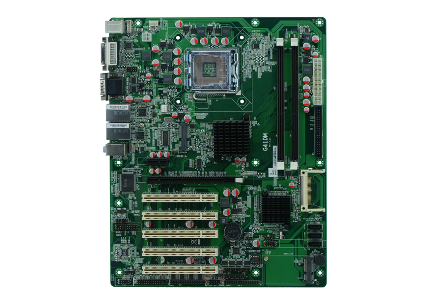 G41DM NVR industrial motherboard LGA775 motherboard with 10 COM supports supports RS232 RS422 RS485
