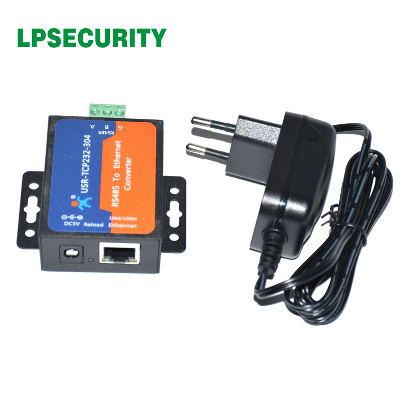 LPSECURITY Serielle Server, RS485 zu LAN/Ethernet Konverter/RS485 zu Ethernet Konverter mit Eingebaute Webseite