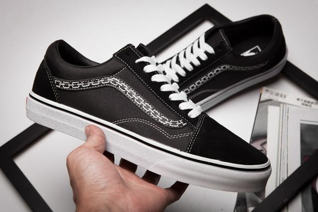 bf80172fe4f1a6 2017 Vans x Sketchy classic Mens canvas shoes
