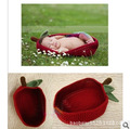 free shipping,Baby Infant NewBorn handmade crochet sleeping bag  knit  Costume Photography Prop