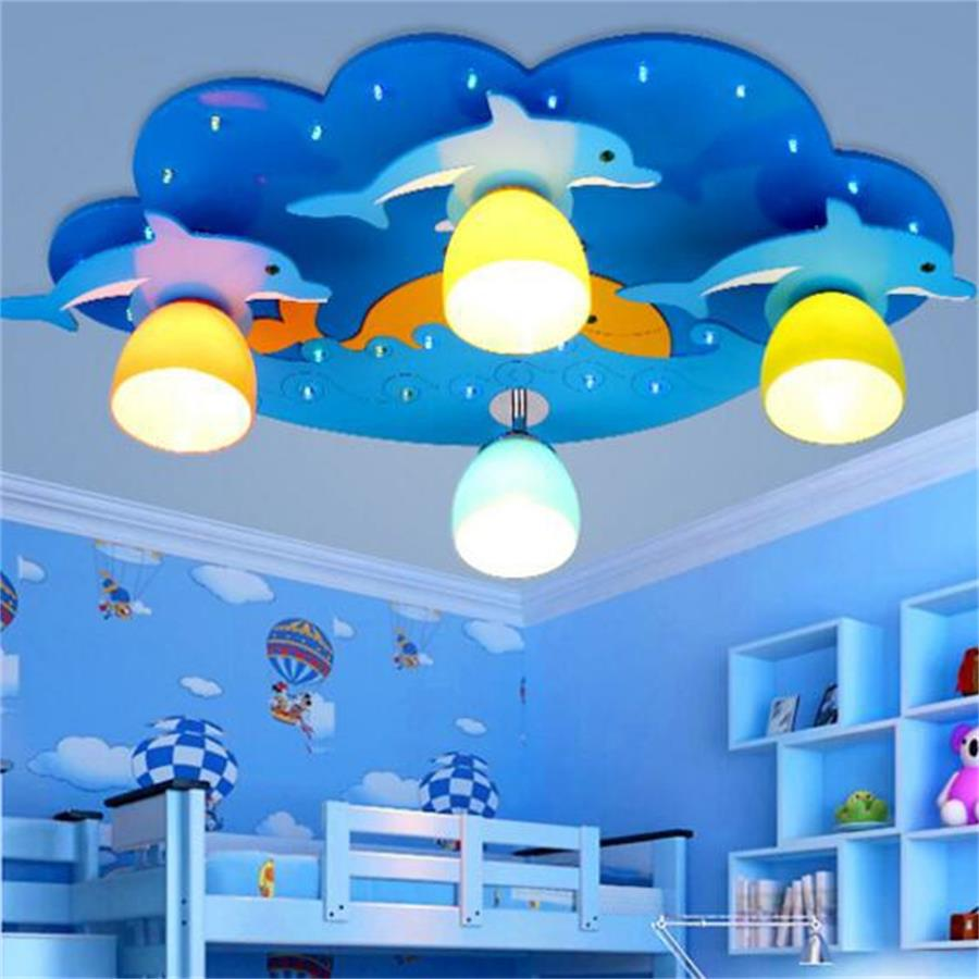 Kids bedroom ceiling lights - Kids Led Ceiling Lamp Child Ceiling Lighting Lights 220v Dolphin Children Led Ceiling Light Boys Bedroom