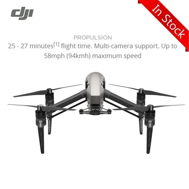 Em Estoque! dji zangão dji inspire 2 zangão fpv rc quadcopter 100% original com 4 k spotlight vídeo pro inteligente modos de vôo