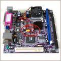 Envío gratis Elite C3VCM6-800 máquinas POS placa base 17*17 ITX IPC C3-800 con PCI