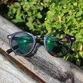 Мужские очки для чтения WEARKAPER  очки для чтения в круглой оправе  светохромные Регулируемые очки с диоптрием 1 0-3 25