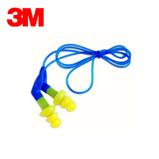 3M 340-8002 Anti-noise Earplugs Sleeping Earplugs Christmas Tree with Cable Comfortable Yellow Ear protector NRR 27 SNR 35 E5517 3m 340 4002 earplugs heatshrinked christmas tree belt straps with box ears protection nrr25 snr32 e5510