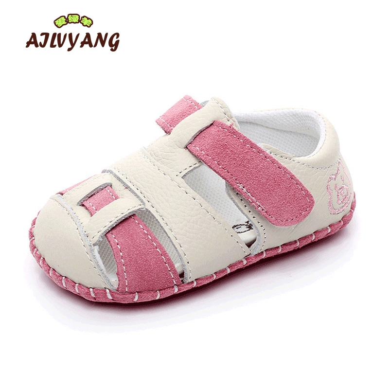 Summer Baby Boys Girls Sandals Children Soft Bottom First Walkers Shoes Toddlers Single Comfortable Shoes X187