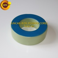 T650 52 Soft Magnetic Materials Inductive Magnetic Core Iron Powder Core