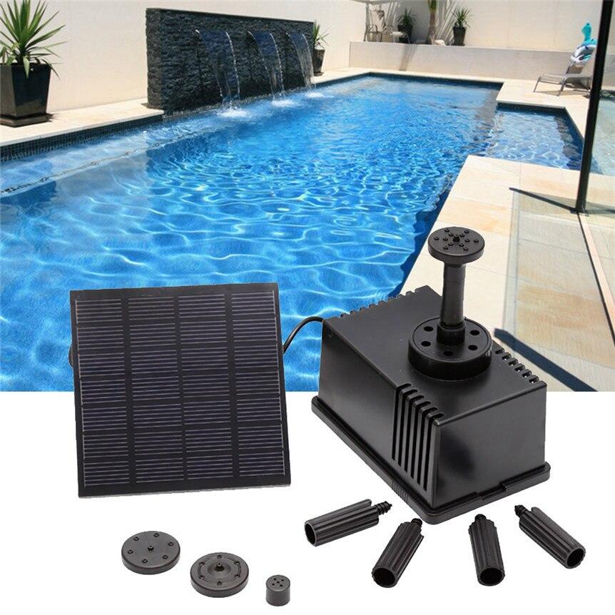 80 cm hook s pompe de fontaine solaire