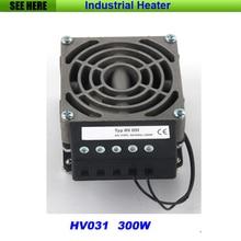 Бесплатная Доставка 300 Вт Компактный Высокопроизводительный Промышленный Обогреватель, электрический Нагреватель Промышленных Шкаф Электрический Нагреватель (HV031-300W)
