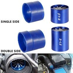 F1 Z samochodowe pojedyncze/podwójna turbina Turbo ładowarka filtr powietrza wentylator wlotu paliwa gazowego Saver zestaw Auto części zamienne doładowania w Wloty powietrza od Samochody i motocykle na