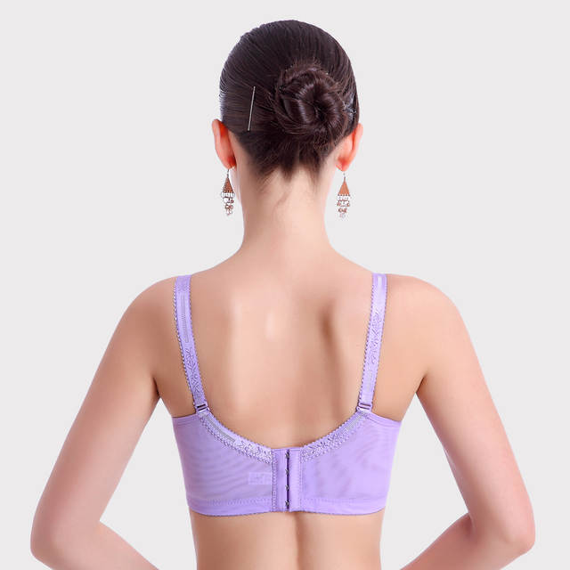 c0efff7948 Mozhini Non slip women bra small chest super push up bra lady beauty big  size bra comfortable underwear female bralette lace bra