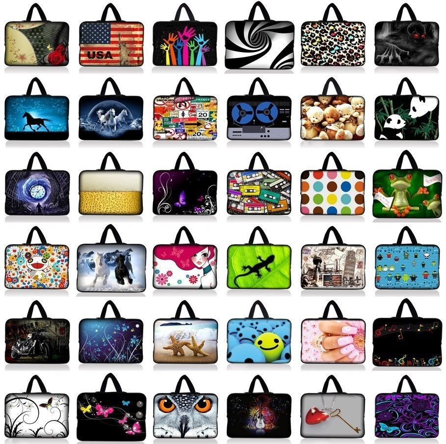 7.9 9.7 10.1 11.6 12 13 13.3 14.4 15 15.4 15.6 Laptop Sleeve Bag Notebook Case Cover For HP DELL Toshiba ASUS Lenovo #K