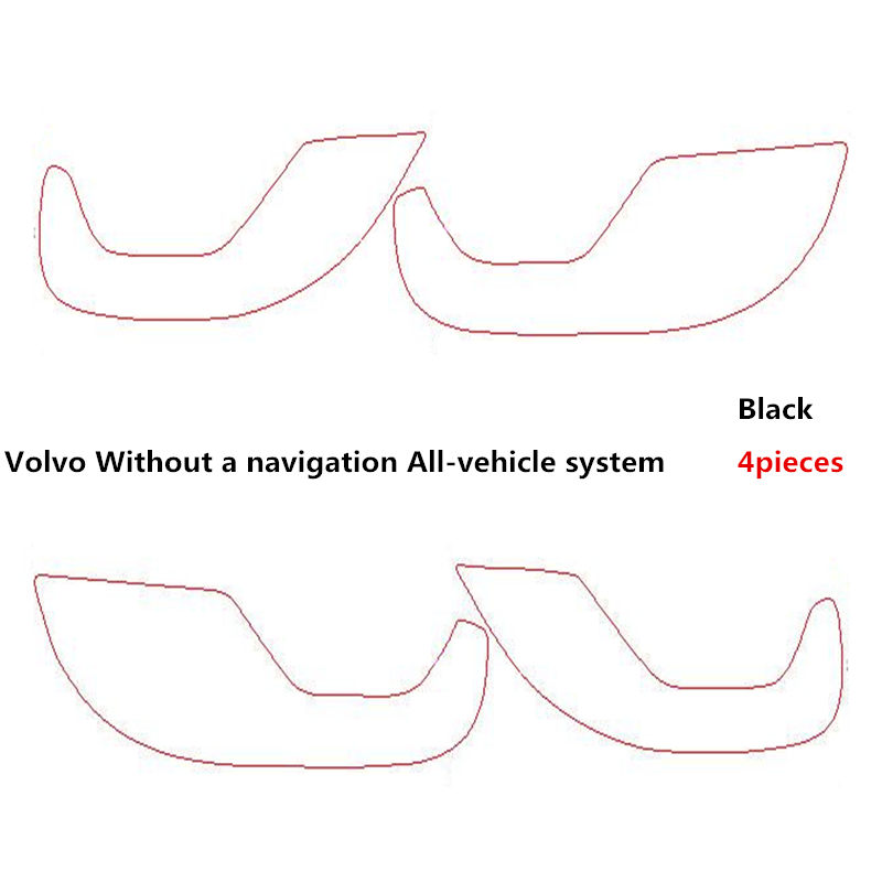 2017 Hot Selling TAIJS car door pad for Volvo XC60 Spurn resistant Non dust Boot resistan cover