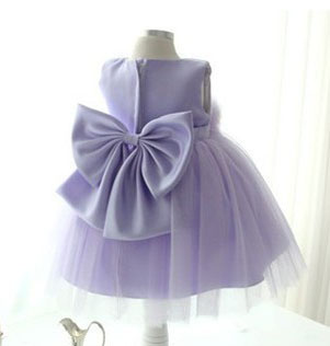 Baptism Baby Girls Dresses Princess Birthday Party Wedding Dress Christening Gowns Big Bow Purple frocks For 2 4 6 8 10 12 Years girls tulle tailing embroidery lace bow dress for wedding birthday party manual nail bead frocks costumes size 4 6 8 10 12 years