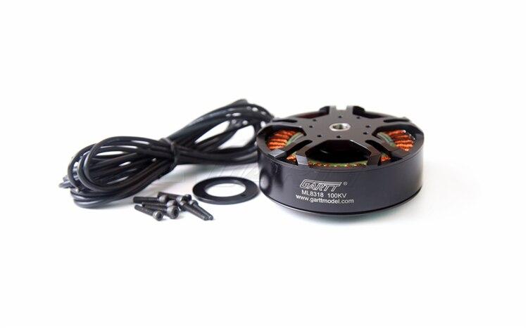Gleagle`s ML 8318 100KV Brushless Motor For 3080 porps multicopter Drone UAV 4 x gartt ml 8318 120kv brushless motor for porps multicopter drone uav