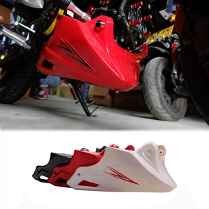 For Honda MSX 125 2013 2014 2015 Black Red Engine Protector Guard Cover Under Cowl Lowered Low Shrouds Fairing Belly Pan(China)