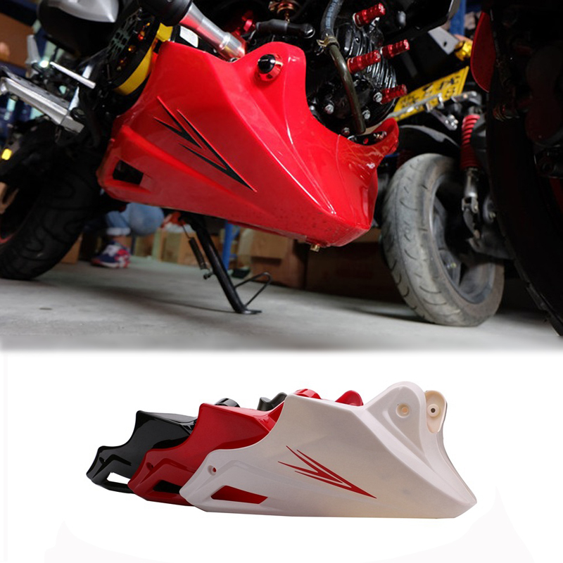 For Honda MSX 125 2013 2014 2015 Black Red Engine Protector Guard Cover Under Cowl Lowered Low Shrouds Fairing Belly Pan