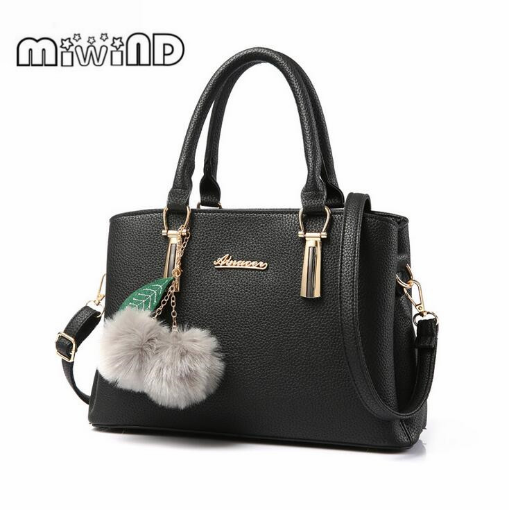 Bolso Mujer Negro 2017 Fashion Hobos Women Bag Ladies Brand Leather Handbags Spring Casual Tote Bag Big Shoulder Bags For Woman mliizykki lace flower handbags women shoulder bag spring casual hobos tote