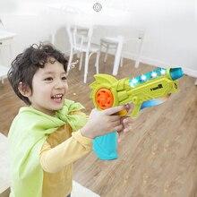 Игрушечный пистолет мини-проектор деформируемый светильник пистолет звучащий пластиковый игрушечный пистолет для мальчиков музыкальный вокальный мигающий пистолет восьми тон