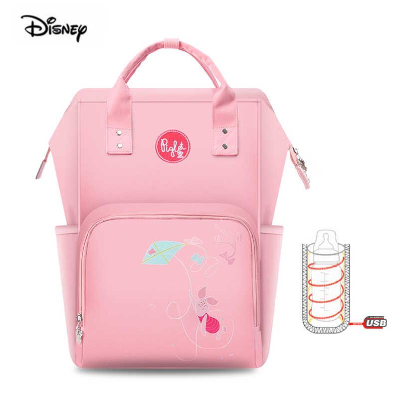 Disney Saco Mãe Multifuncional de Grande Capacidade Fralda Saco Maternidade Mochila Para A Mãe Eo Bebê de Viagem À Prova D' Água Dropshipping