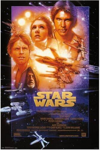 Star Wars Episode Iv A New Hope Silk Poster Decorative Wall Painting 24x36inch Buy At The Price Of 2 69 In Aliexpress Com Imall Com