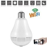 Wifi 960P HD 360 Degree Wireless IP Camera Bulb Light Smart Home CCTV 3D VR Camera