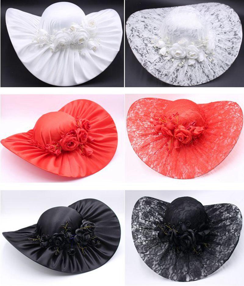 Red White Wedding Hat,wedding Hats For Women Elegant,bride Hat,wedding Accessories Chapeau Femme Mariage Bridal Accessories