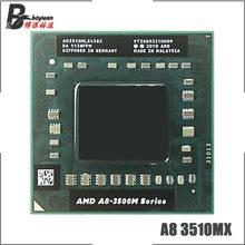 Processador amd A8-Series A8-3510MX a8 3510mx, cpu quad-core com soquete fs1, 1.8 ghz