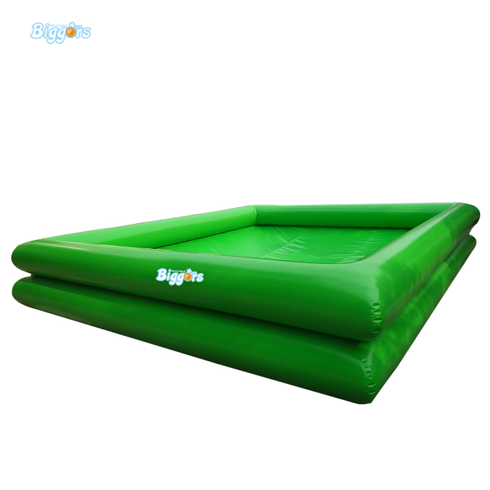 Inflatable Biggors Inflatable Custom Size Pool For Sports Games inflatable biggors combo slide and pool outdoor inflatable pool slide for kids playing