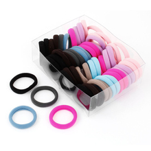 MYPF-56 x Colorful Elastic Rubber Hair Bands Ponytail Holders for Ladies