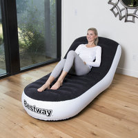 Inflatable sofa multifunction portable deck chair beanbag outdoors garden bay window lazy sofa bean bag inflatable bed one couch
