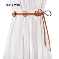 Belt For Women Belts Bohemia Straps Elastic Reversible Large Size Buckle 2017 New High Quality Reversible Designer Casual Waist
