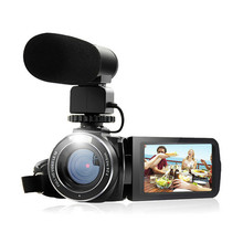 Cheap price Camcorder 1080P Full HD Ordro HDV Wifi Digital Camera with External Microphone Rotate LCD Screen Handheld Video Voice Recorder