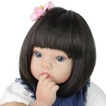 NPKBEBE 50cm Reborn Dolls full silicone Baby doll Realistic bebe Alive Reborns bebe reborn menina de silicone toys for children