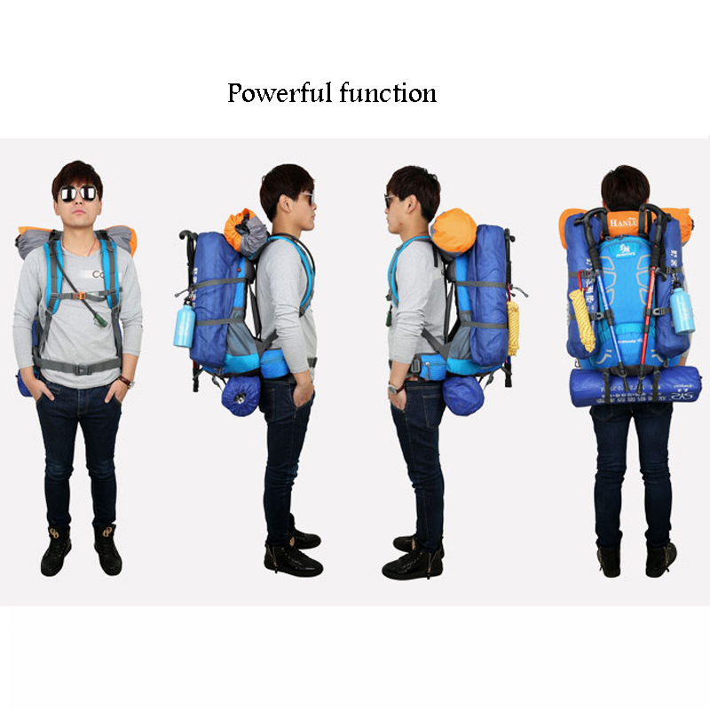 40L Outdoor Travel Backpack Bags Outdoor Camping Equipment Trekking Backpack Tourist Sports Bag Climbing Camping Backpack 5