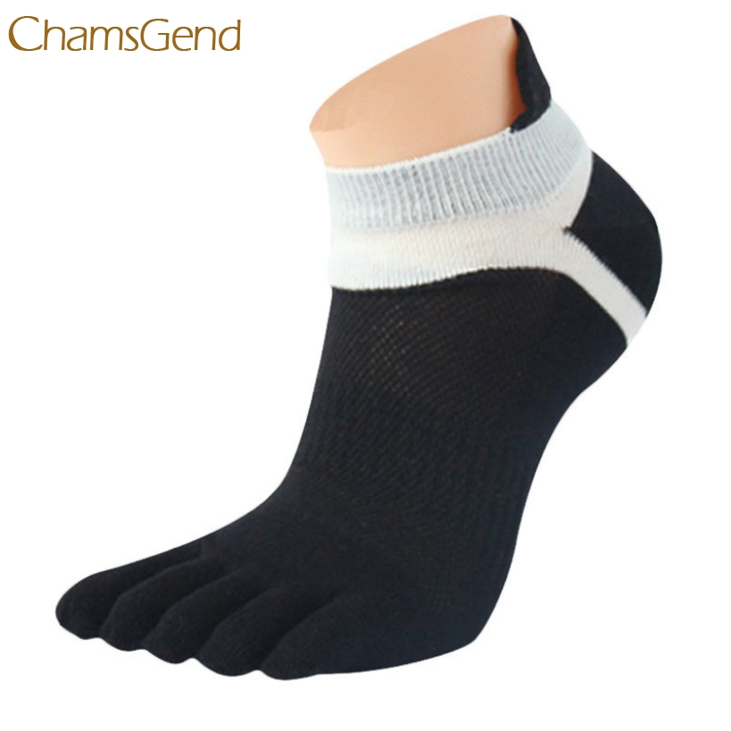 Elegant 1 Pair Summer Men Socks Mesh Five Finger Toe Socks Free Shipping