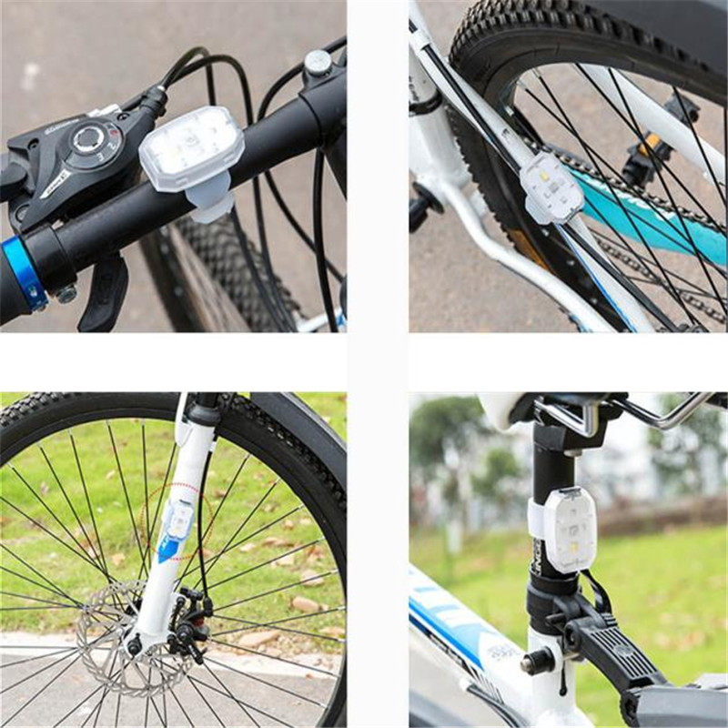 B2 Bright Outdoors LED Bicycle Safety Light Flashlight Ideal for Ru Bike light More Durable Warning Lights Wholesales&Retails