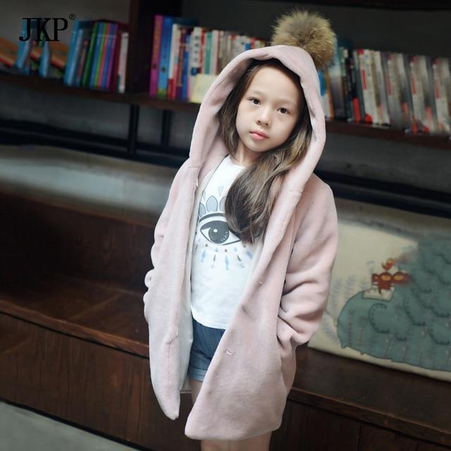 Aliexpress.com : Buy 2017 New Kids fur coat jacket Fashion child ...