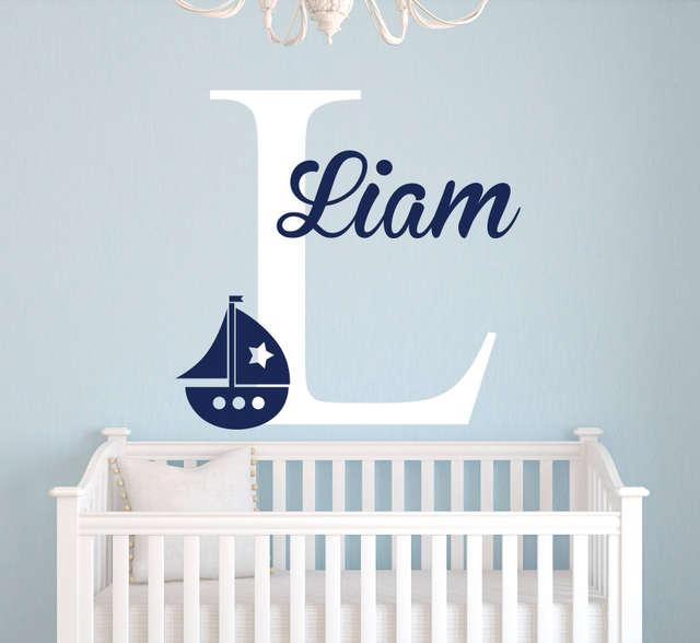 Nautical Baby Room Decor Wall