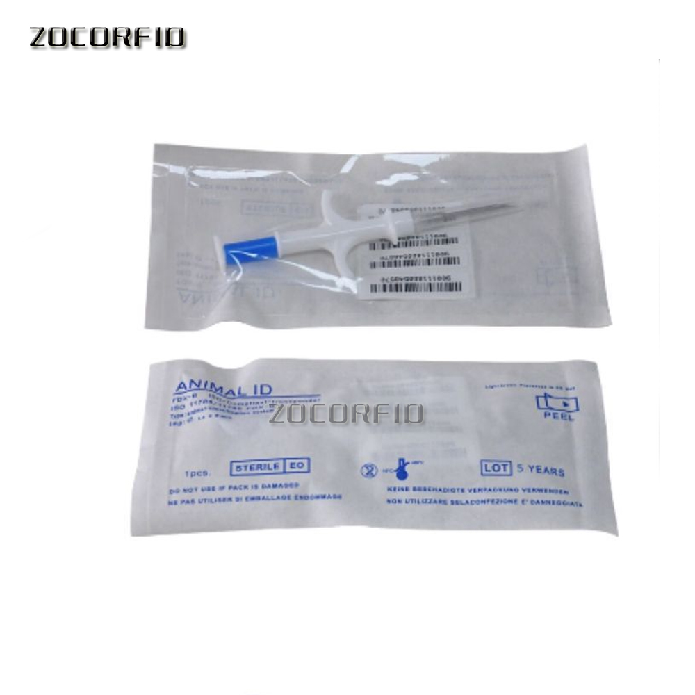 134.2KHz RFID Glass Tag For Pet Identification,Tag For Animal Tracking/identification Pet Syringe Chip