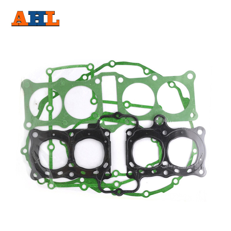 AHL Motorcycle Parts Head Cylinder gaskets Stator Engine Cover Gasket Kit For Honda CB400 CB-1 CBR400 NC23 replacement motorcycle parts tank cover stator engine crank case cover for honda cb900 cb919f cb 900 919f 02 07 free shipping