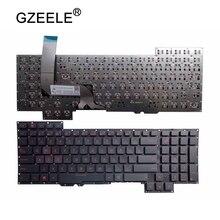 GZEELE для ASUS g751jl-bs17t28 G751JT-CH71 G751JM-BHI7T25 США раскладка клавиатуры ноутбука G751 G751J G751JL G751JM G751JT G751JY