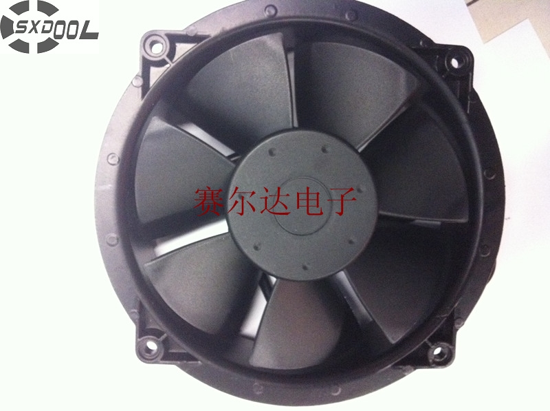вентиляторы 230 мм - SXDOOL Axial fan blower XF2362ABH 23cm 230mm 220V/240V with bearing 230*200*65 MM